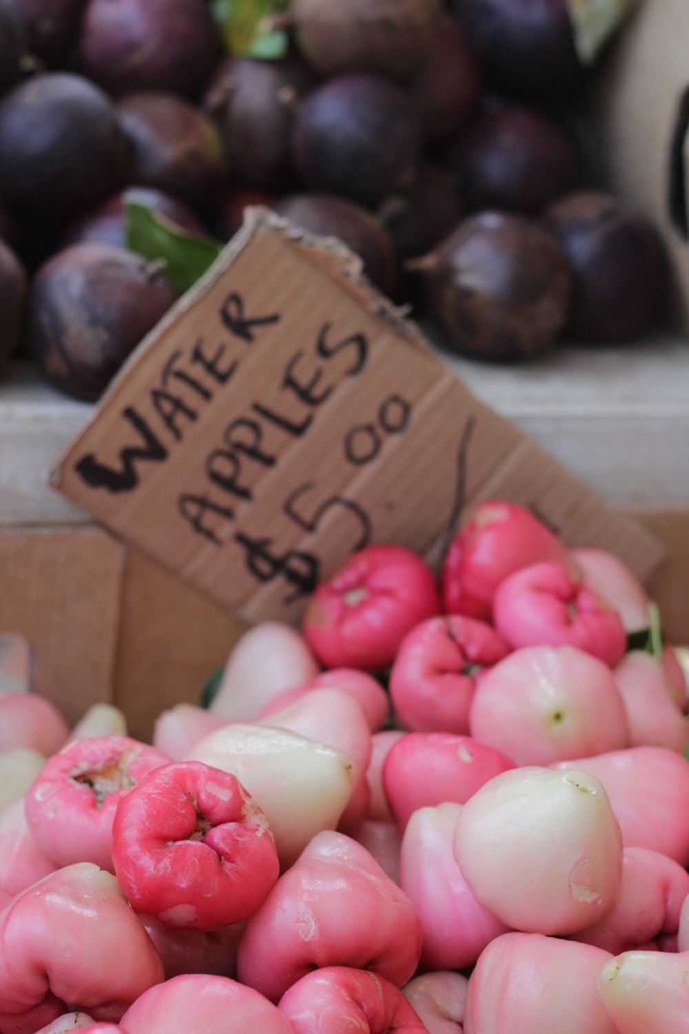 Rose Apples and star apples