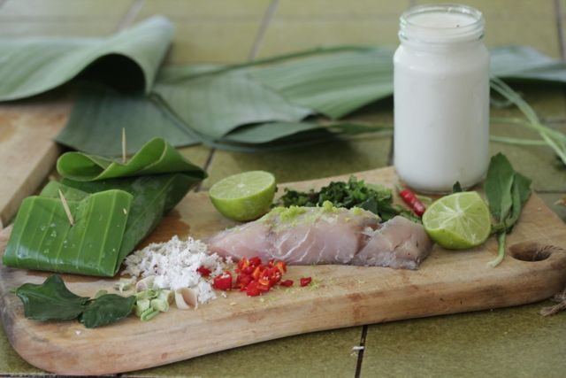 Fish parcel ingredients