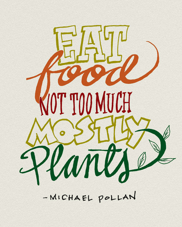 eat food mainly plants