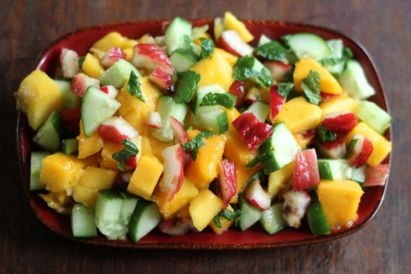 red bush apple salad 2